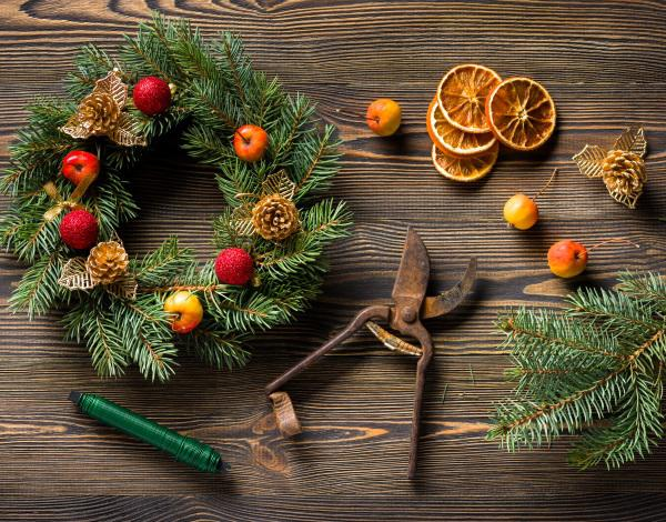 Wreath Making Masterclass & Champagne Afternoon Tea